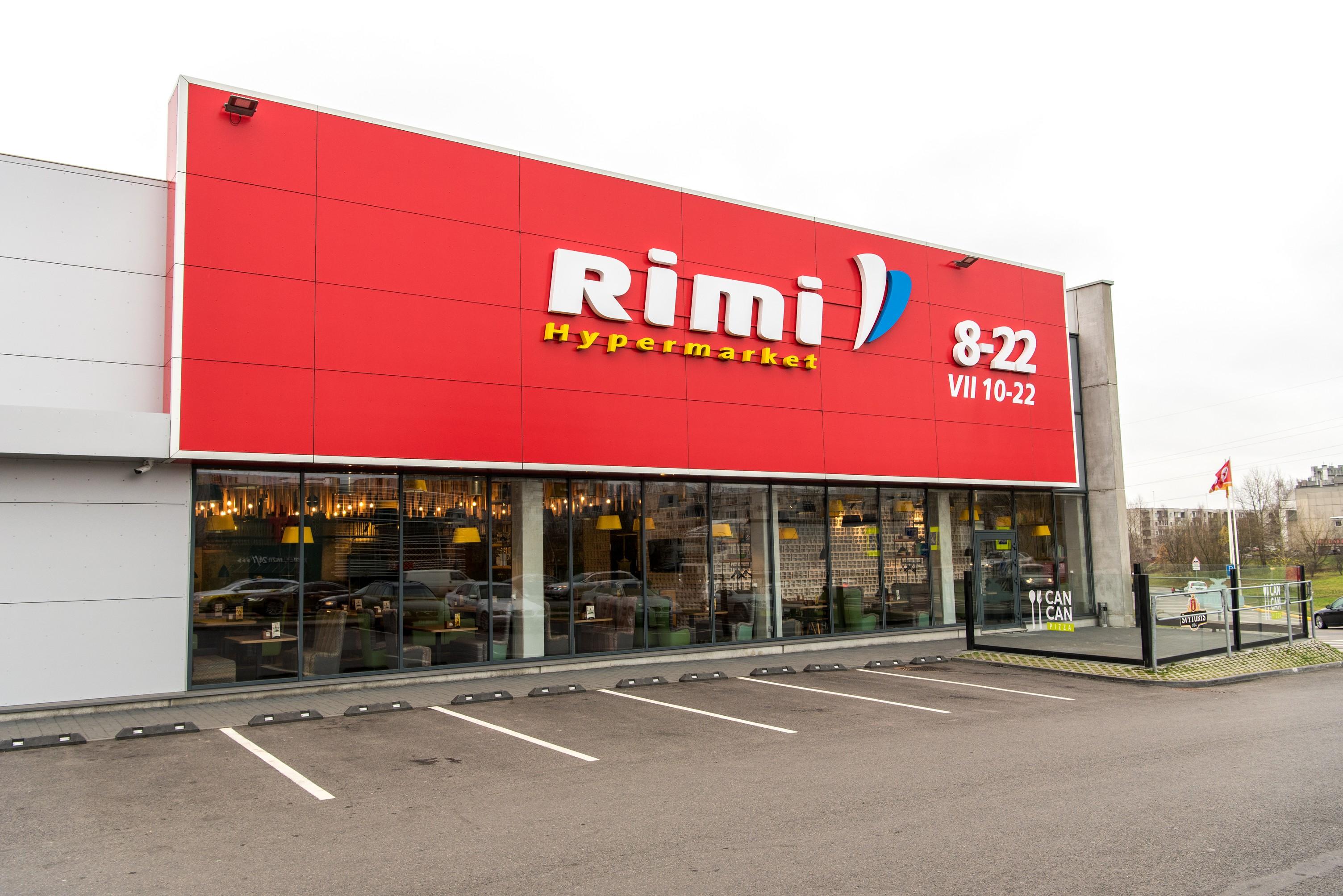 Rimi shop in Vilnius (Ukmergės street)